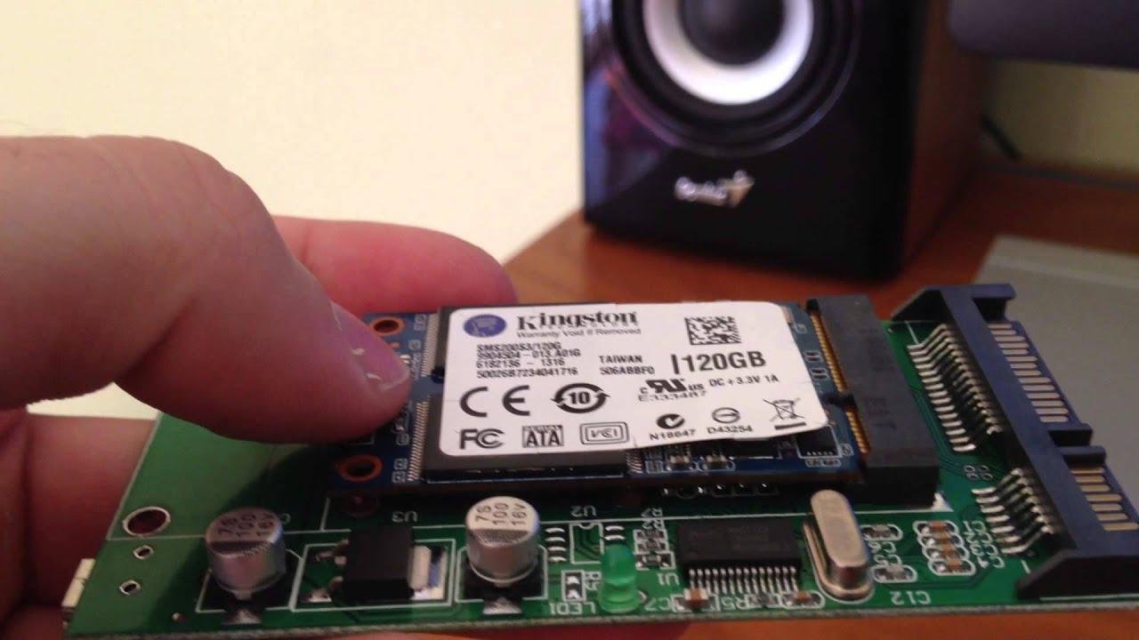 mSATA converter mod-replacing laptop SSD - DeLOCK 62493