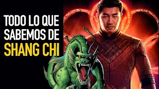 Todo lo que sabemos de Shang Chi I Marvel Studios