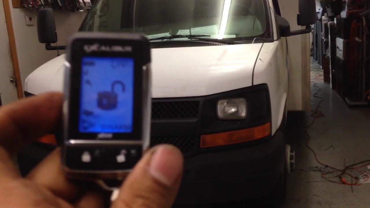Malibu 2011 chevy malibu remote start not working : 2007 Chevy express van omega Excalibur al-1870 remote start - YouTube