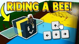 RIDING A BEE?? 🐝 *DOES IT WORK* | Build a boat for Treasure ROBLOX
