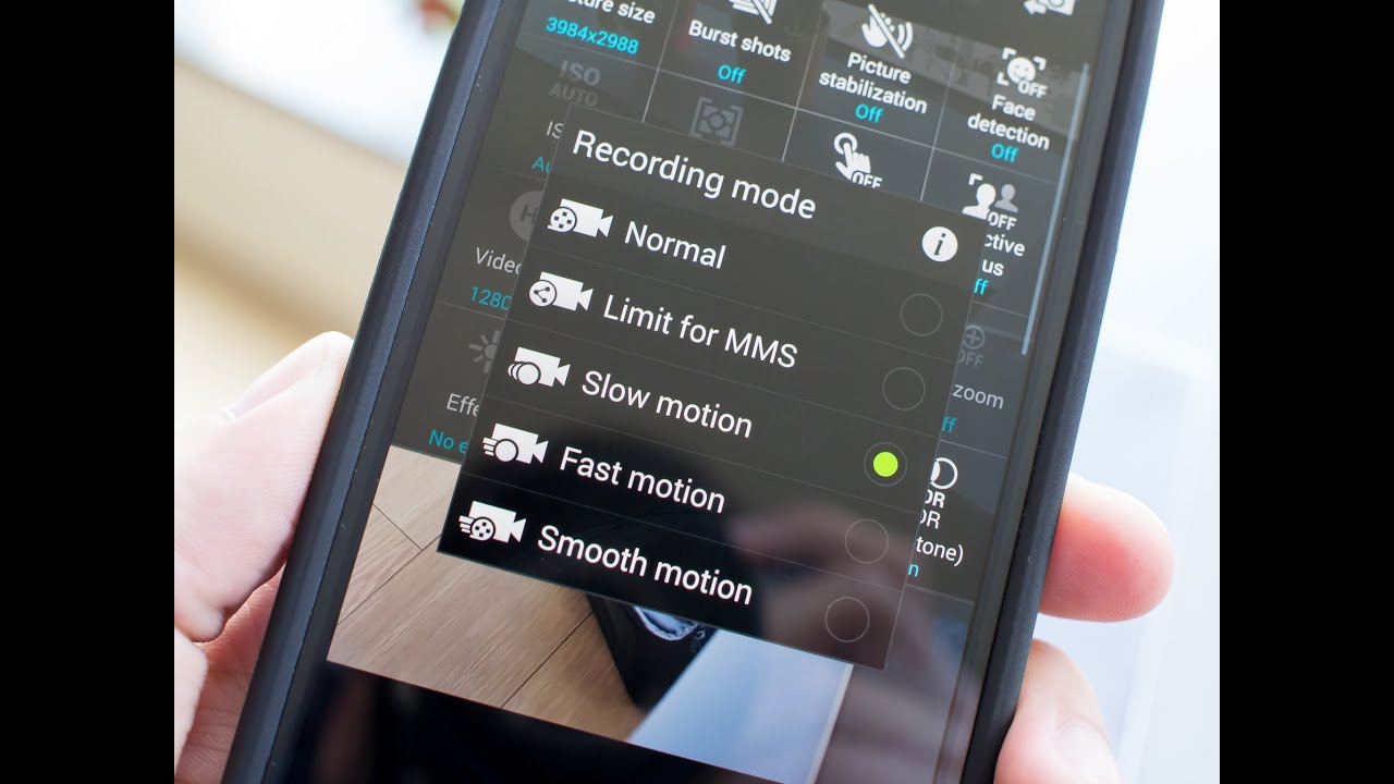 How to use the Galaxy S5's slow (and fast) motion video features
