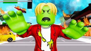 Secret Zombie Outbreak In Brookhaven! A Roblox Movie (Brookhaven RP)