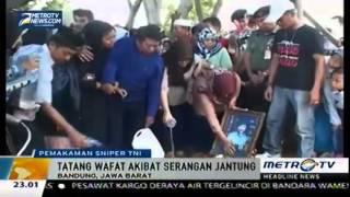 Upacara Militer Lepas Jenazah Tatang Koswara  Sniper Legendaris Indonesia   Berita Terbaru