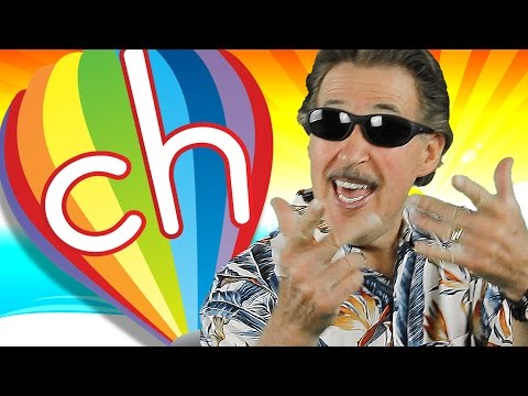 Digraphs | Let's Learn About the Digraph ch | Phonics Song for Kids | Jack Hartmann