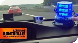 46 km/h zu SCHNELL!! Verliert der Raser seinen Führerschein? | Achtung Kontrolle | kabel eins