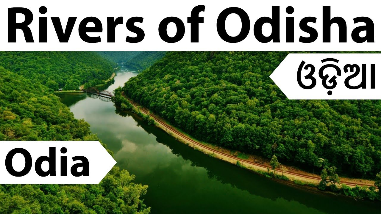 Odia - Important Rivers of Odisha - Geography of Orissa in Oriya for OPSC  OSSC OTET and other exams