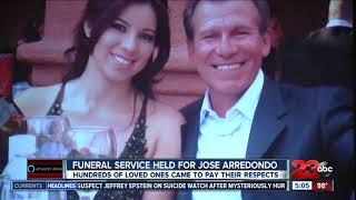 Funeral service held for Jose Arredondo