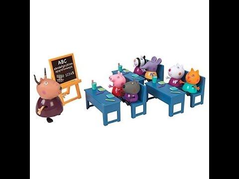 peppa pig salle de classe playset jouet peppa pig classroom playset jouet pour les enfants. Black Bedroom Furniture Sets. Home Design Ideas