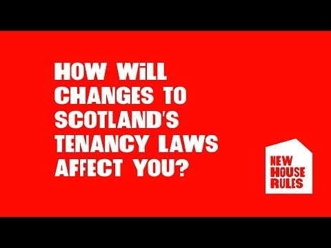 Private Residential Tenancies Scotland - New House Rules