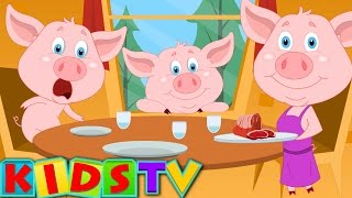 This Little Piggy Nursery Rhyme And Kids Songs | Kids TV