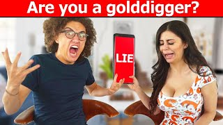 I TOOK A LIE DETECTOR TEST WITH MY GIRLFRIEND!
