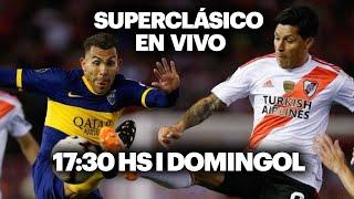 BOCA vs. RIVER ⚽️ EN VIVO | Domingol Superclásico
