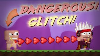 HE PUNCH = YOU DISCONNECT! (insane glitch!)