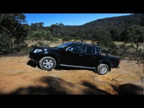 nissan navara v6 st x 550 test allan whiting youtube. Black Bedroom Furniture Sets. Home Design Ideas