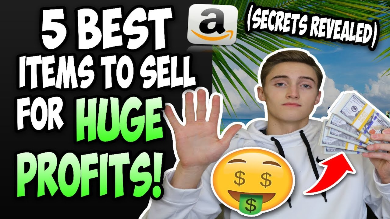 how can i sell items on amazon