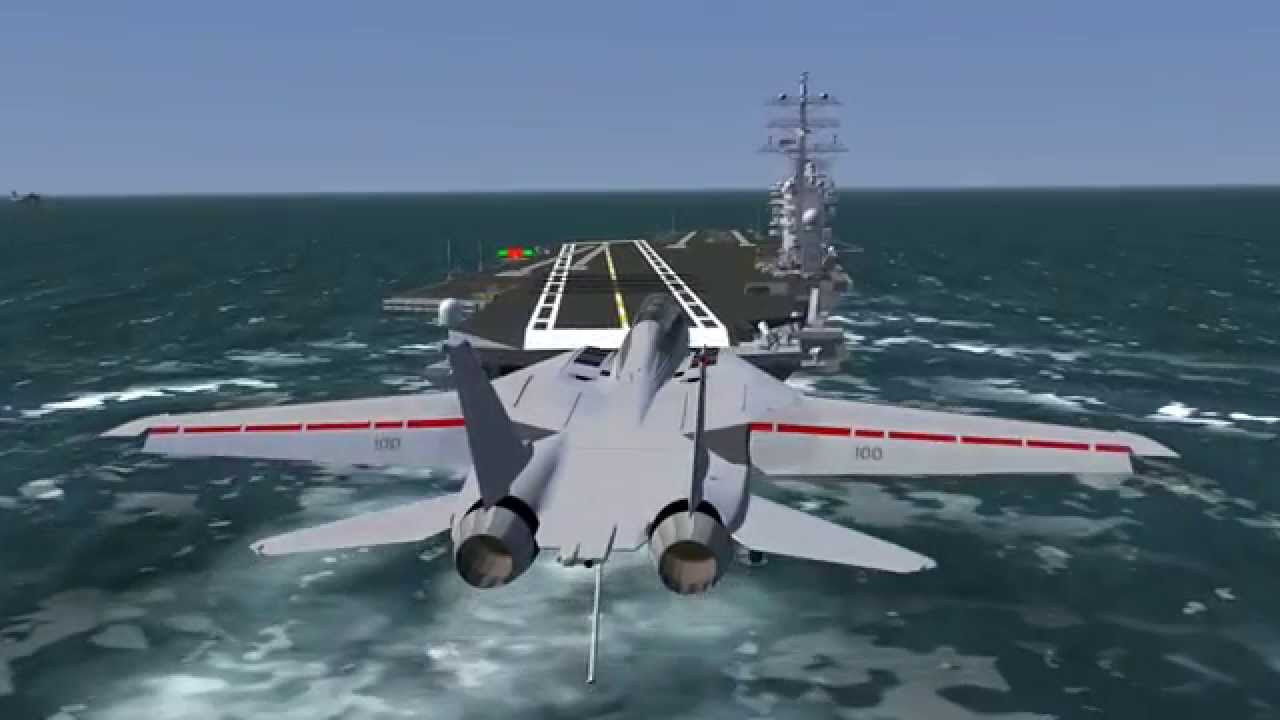 Precision Carrier Landing System - YouTube