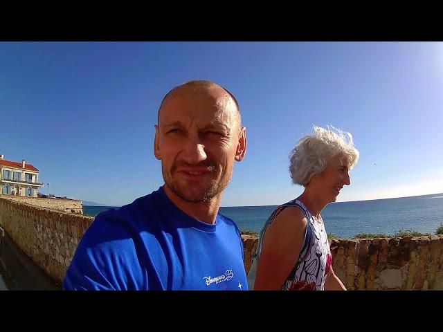 Antibes, dzień po maratonie