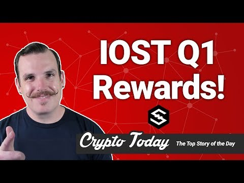 Crypto Today: IOST Q1 Rewards Results