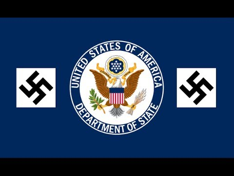 Why does the State Department support fascists and Nazis?