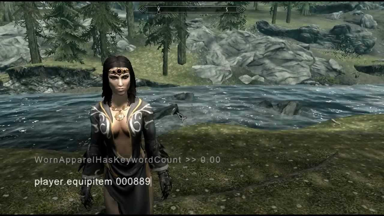 How To Get The Sexiest Secret Outfit In Skyrim Youtube