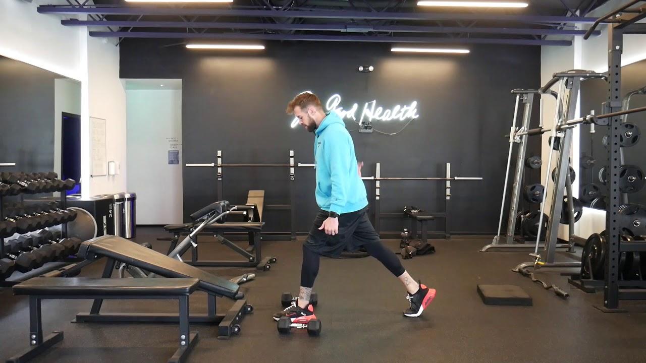 How to perform: 3 Level split squat
