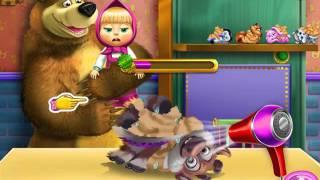 Мультик игра Игрушки Маши и Медведя (Masha and Bear Toys Disaster)