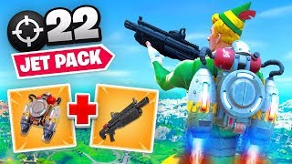 Jetpacks Have RETURNED To Fortnite!