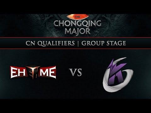 EHOME vs KG Game 1 - Chongqing Major CN Qualifier: Group Stage w/ Lyrical, Jenkins, GoDz