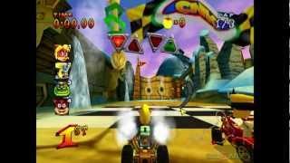 Crash Nitro Kart - Gameplay PS2 HD 720P