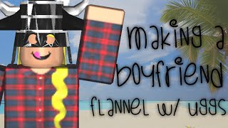 ROBLOX- Making a boyfriend flannel and UGGS