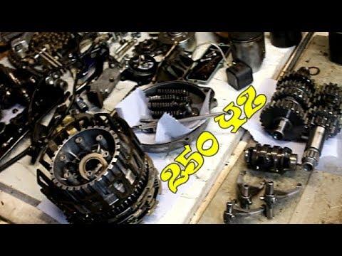 Yamaha 250 YZ (2005-2020) Full Demontage Moteur SCUMMYBRAAP518