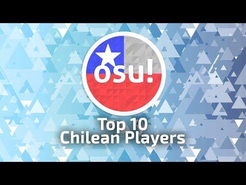 Top 10 Chilean Players osu! (12-06-2017)