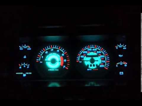 Jeep Cherokee Custom Glow Gauges Youtube