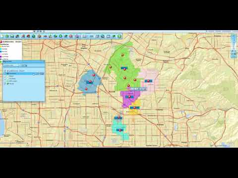 How To Import A Color-Coded Zip Code List - Map Business Online