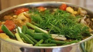 Hướng dẫn cách nấu Cá chép om dưa chua | BẾP VIỆT 24