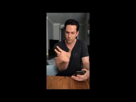 Insta Live with Zachary Levi on 04222018  Part one