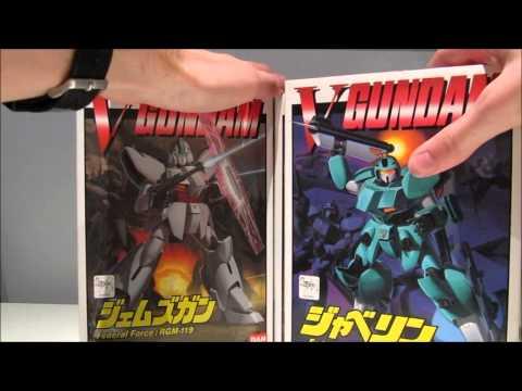 New Loot: Old Victory and Gundam X kits