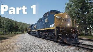 train Sim World: CSX Heavy Haul - Первый взгляд Обзор Самый Реалистичный Симулятор машиниста