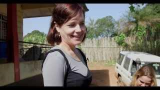 Elizabeth McGovern Visits Her World Vision Sponsored Child in Sierra Leone