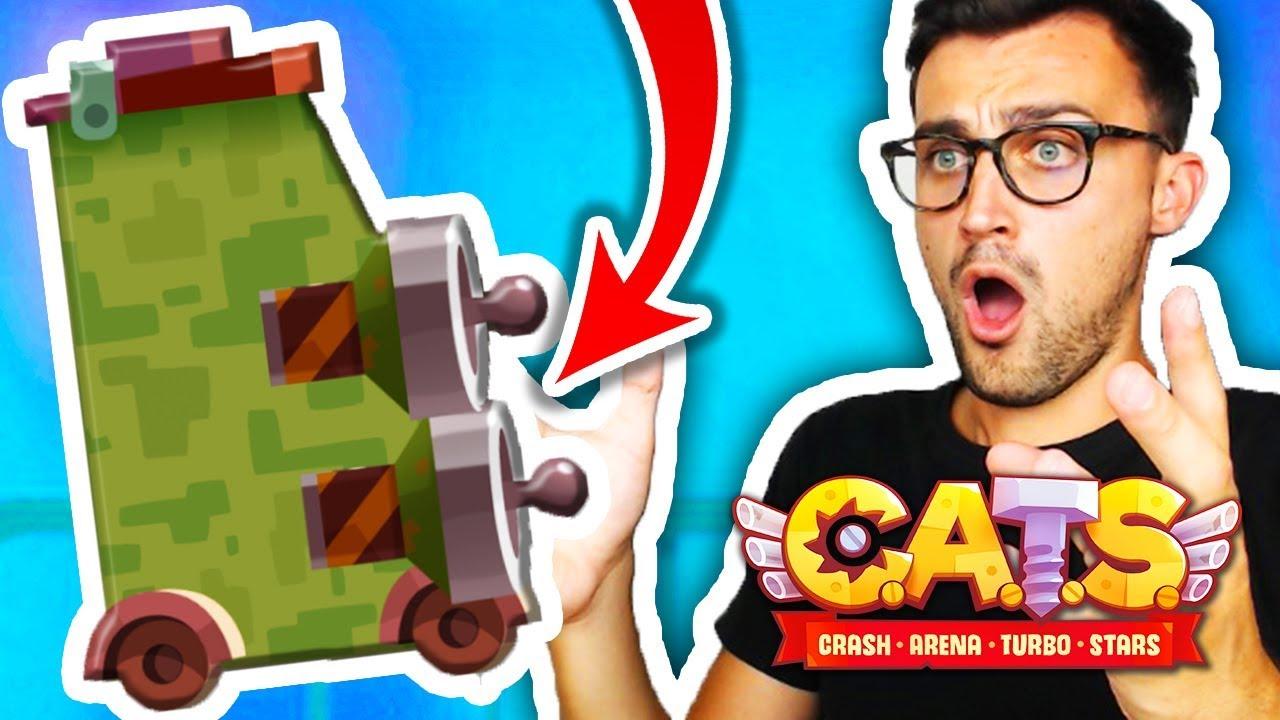 Keine Räder! 2 Laser zerstören alles!   C.A.T.S. - YouTube