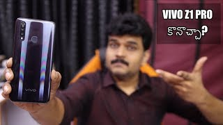 VIVO Z1 PRO Review With Pros & Cons ll in Telugu ll