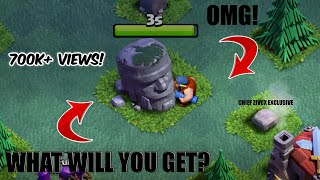 OMG! What is behind this Old Barbarian statue! Revealing in this video !|Clash of Clans|Chief Zivox|