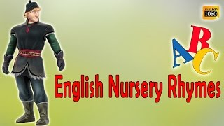 ABC Songs English Learning Nursery For Kids | Cartoon Popular ABC Rhymes For Children