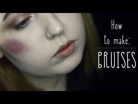How to make: BRUISES | Как сделать синяки | Alice.k