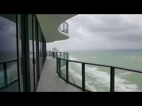 Raw Footage Hurricane Irma  Miami Beach