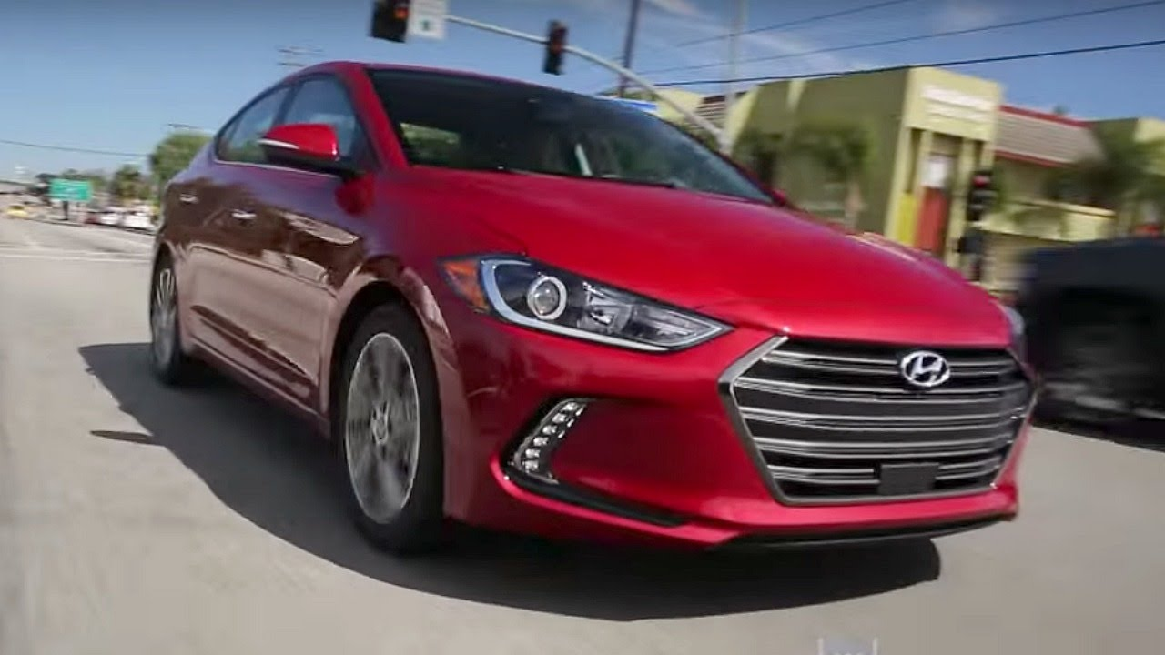 2017 Hyundai Elantra - Review and Road Test - YouTube