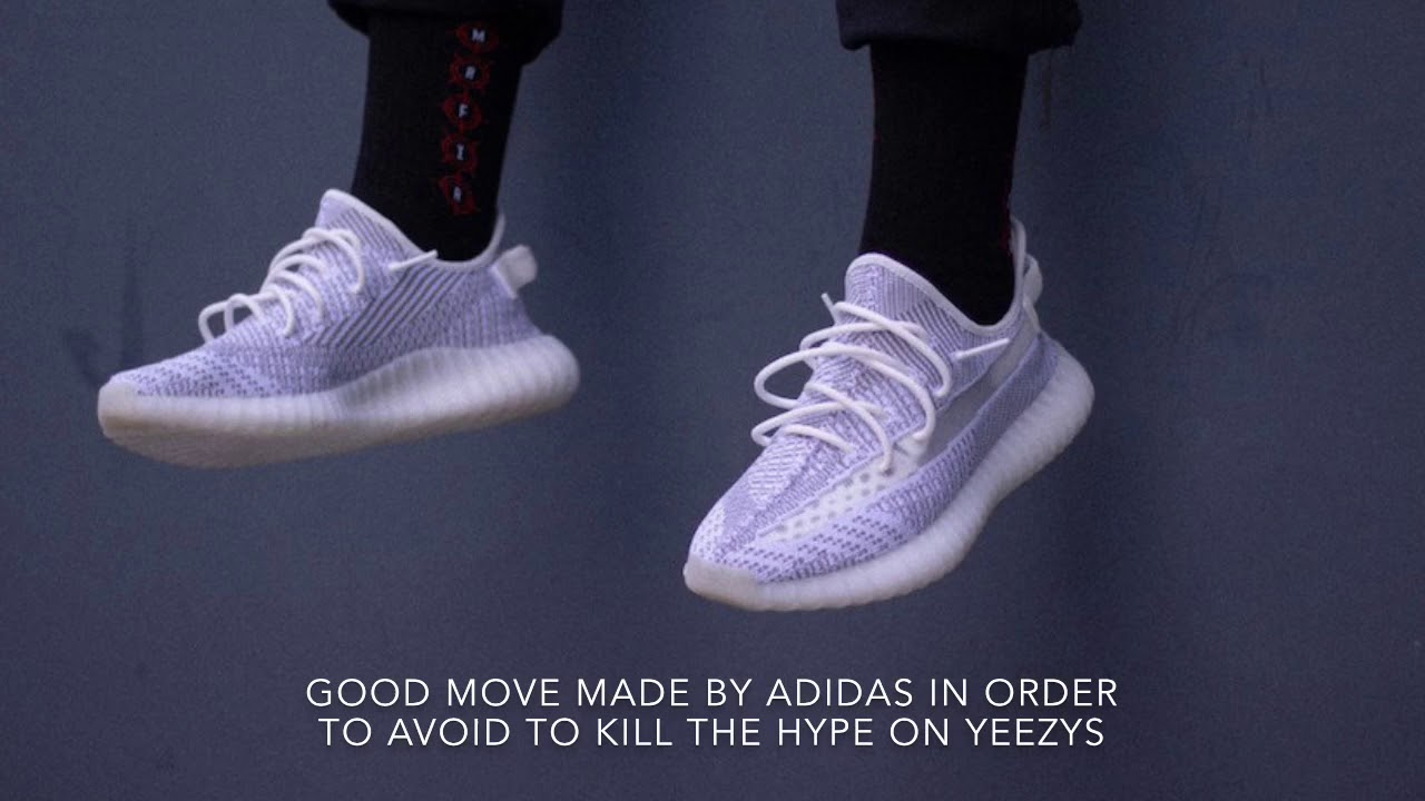 ddf86200a Preview Yeezy 350 v2 Static Non Reflective   Reflective!!! - YouTube