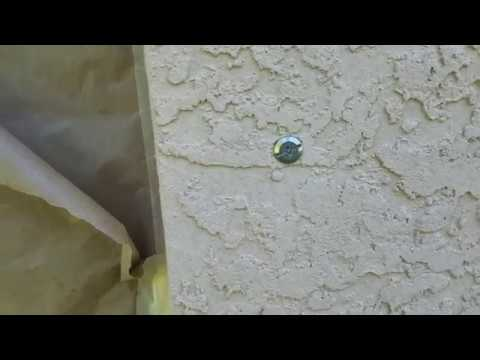 Painters tip for Hurricane shutter bolts/screws