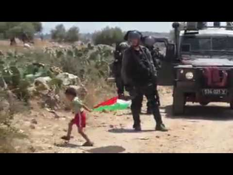 Palestinian father sends child to throw rocks at IDF soldiers