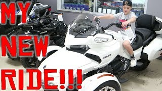 ROCCO'S NEW RIDE! (Check out these bikes!)